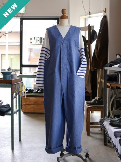 """maillot """"dungaree overall (2colors)"""""""