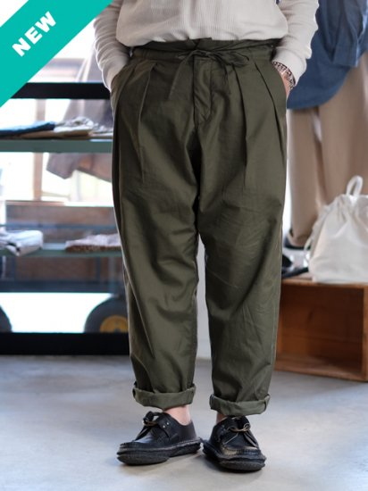 "monitaly ""Drop Crotch Pants"""
