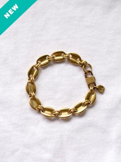 """MEL. """"Brass anchor chaine bracelet (Raw)"""""""