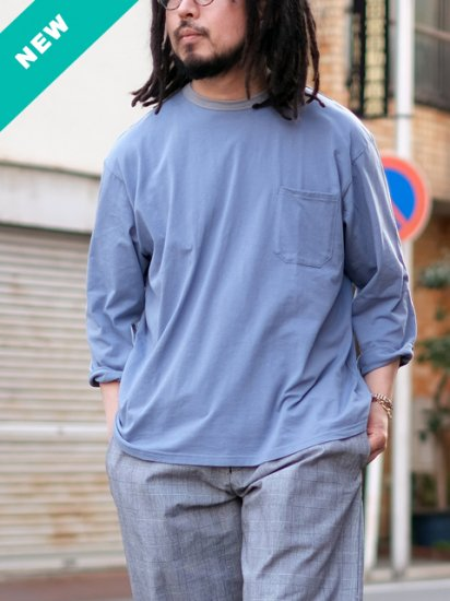 """maillot """"Loose Ringer 3/4 Sleeve Tee"""""""