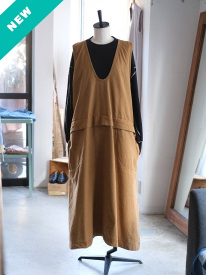 """manon """"BACK CHINO FLARE ONEPIECE """""""