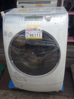 TOSHIBA 2012年 9kg ドラム TW-Z9200L - 日暮里リサイクル123