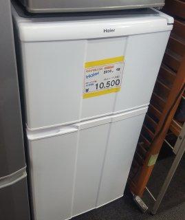 2010年 ハイアール HAIER JR-N100C-W [冷蔵庫(98L・右開き) ホワイト - 日暮里リサイクル123