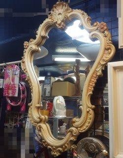 「アンティーク」壁掛け 鏡 イタリア製 - 日暮里リサイクル123