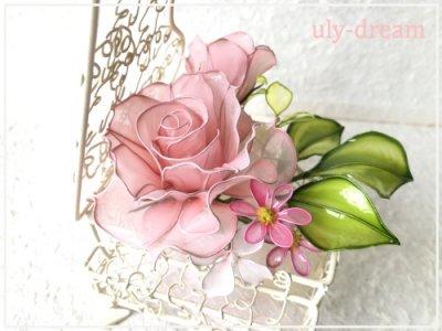 ピアノ 〜ピンクのバラ〜