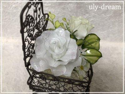 ピアノ~白いバラ~