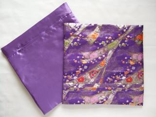 クッションカバー(紫)