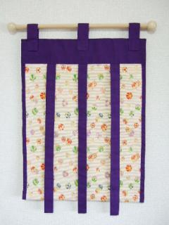 タペストリー(紫)