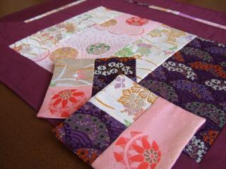 ランチョンマットセット(紫)