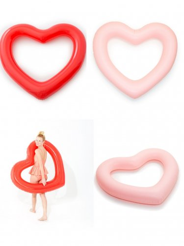 ban.do jumbo heart inner tube