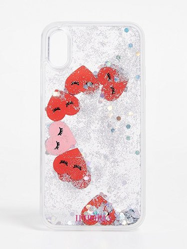 Iphoria アイフォリア Hearts Transparent iPhone X ケース