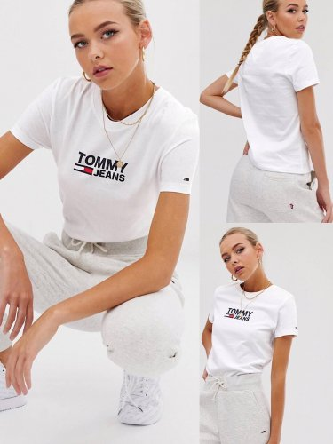 Tommy Jeans トミージョーンズ ロゴTシャツ