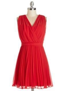 【即納】 ModCloth (モドクロス) レッド  ワンピース ドレス