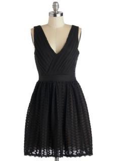 【即納】 ModCloth (モドクロス) ブラック ワンピース ドレス
