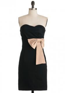 【即納】 ModCloth (モドクロス) リボンモチーフ  ワンピース ドレス