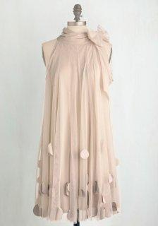 ModCloth (モドクロス) ホルターネック ニュートラル ワンピース ドレス