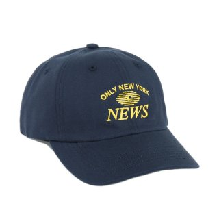 7a698bc1e17 ONLY NY オンリーニューヨーク News Polo Hat Navy