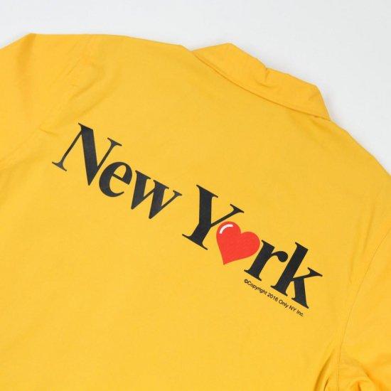 f441ecfc75cb ONLY NY オンリーニューヨーク New York Love Coach Jacket