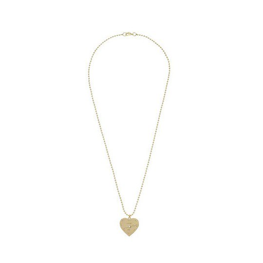 the best attitude 8903a 4b39e MARC BY MARC JACOBS マークバイマークジェイコブスLOVE ME NECKLACE GOLD ハートプレート ネックレス -  PUBLISH,STAPLE,FRANK,THE HUNDREDS 通販の正規取扱店|One Love