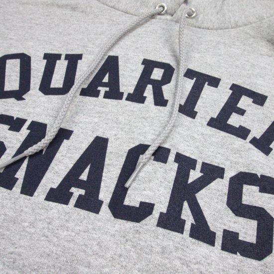 QUARTERSNACKS クウォータースナックス  CHAMPION VARSITY BLOCK HOODIE