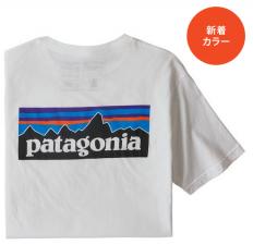 <img class='new_mark_img1' src='https://img.shop-pro.jp/img/new/icons14.gif' style='border:none;display:inline;margin:0px;padding:0px;width:auto;' />【ネコポスOK】Patagoniaパタゴニア  メンズ・P-6ロゴ・オーガニック・Tシャツ