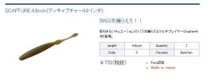 【ネコポスOK】 DCAPTURE 4.8inch/(ディキャプチャー4.8インチ)  DSTYE/ディスタイル