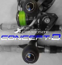 NEWピーターシグニチャースピニングモデルRC-SS EX55mm 27XXL コンセプトD スタジオコンポジット