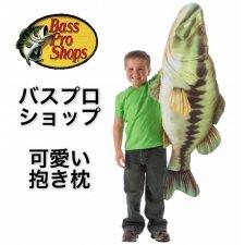 <img class='new_mark_img1' src='https://img.shop-pro.jp/img/new/icons32.gif' style='border:none;display:inline;margin:0px;padding:0px;width:auto;' />【少量入荷!】お魚ピロー(抱き枕) バス/クマノミ/マヒマヒ/イルカ/サメ/トラウト Bass Pro Shops 人気雑貨