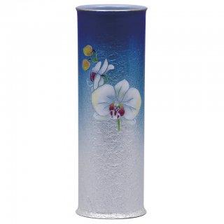 七宝焼き 花瓶 一輪ざし 胡蝶蘭