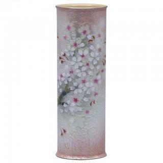七宝焼き 花瓶 一輪ざし 枝桜