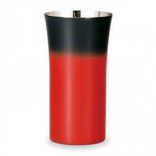 山中漆器 漆磨シングルカップ(S) 赤彩