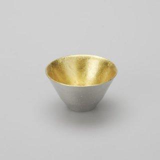 高岡銅器 能作 盃 喜器 � 金箔