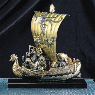 高岡銅器 七福宝舟
