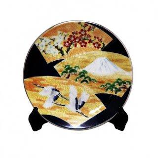 七宝焼き 飾皿 10丸末広