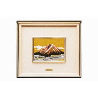 東京銀器 額 赤富士