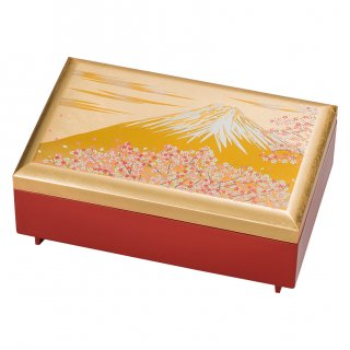 山中漆器 匠宝石箱 富士雅桜