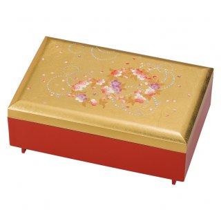 山中漆器 匠宝石箱 かりん