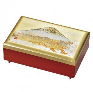 山中漆器 匠宝石箱 白富士(G)
