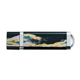 山中漆器 USBメモリー4GB 波