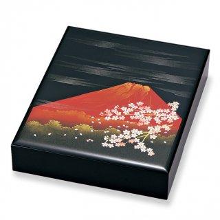 山中漆器 木製 11.0文庫 富士さくら