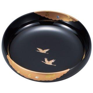 山中漆器 8.0盛鉢 かがやき 黒