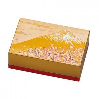 山中漆器 小箱名刺入れ 富士雅桜