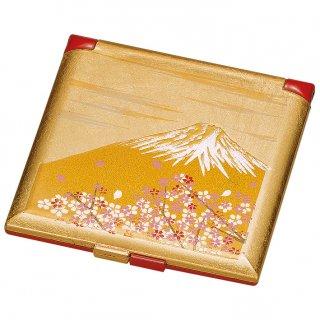 山中漆器 富士雅桜 ミニコンパクトミラー