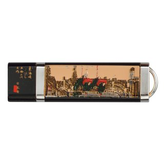 山中漆器 USBメモリー4GB 日本橋