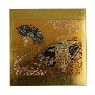 山中漆器 マウスパッド 京雅(G) 飾り立て付き