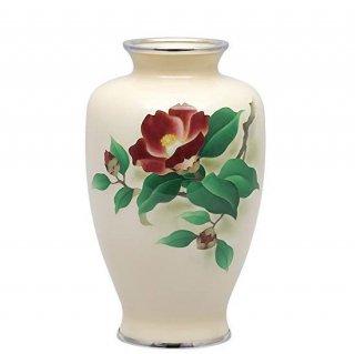 七宝焼き 花瓶 70号中太椿