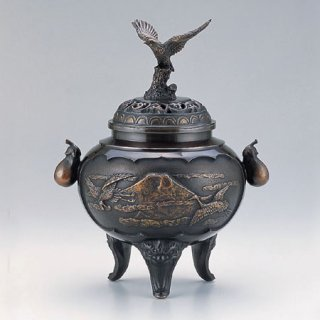 高岡銅器 夢 香炉