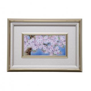 七宝焼き 額 48桜