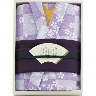 彩美きもの姿(紫)風呂敷・小風呂敷セット P17-2547