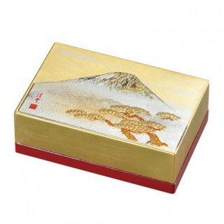 山中漆器 小箱名刺入れ 白富士(G)